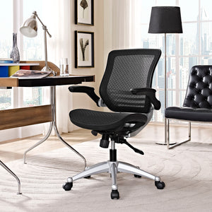 Edge Premium Mesh Office Chair - Black - Office Picture