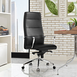 Stride Highback Chair - Black - Office Picture