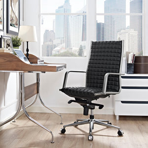 Pattern Highback Office Chair - Black - Office Picture