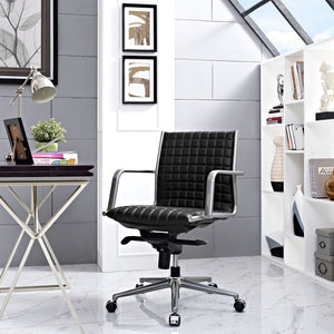 Pattern Office Chair - Black - Office Picture