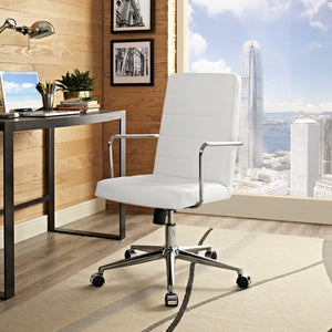Cavalier High Back Office Chair - White - Office Picture