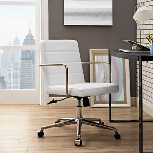 Cavalier Midback Chair - White - Office Picture