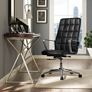 Tile Highback Office Chair - Black - Office Picture