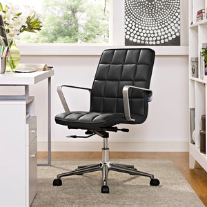 Tile Office Chair - Black - Room Picture