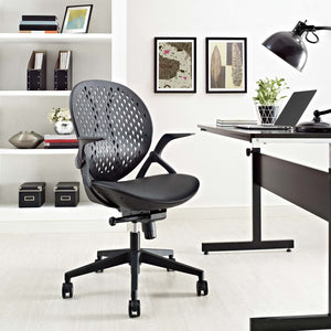 Star Vinyl Office Chair - 1