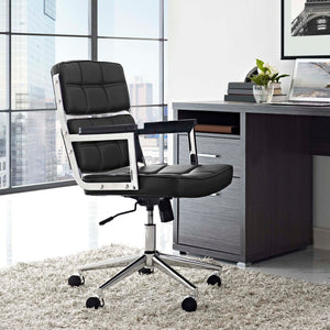 Portray Highback Chair - Black - Office Picture