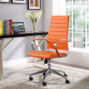 Jive Highback Chair - Orange - Office Picture