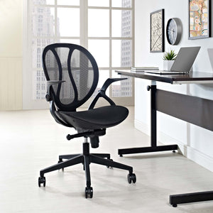 Conduct Mesh Office Chair - Black