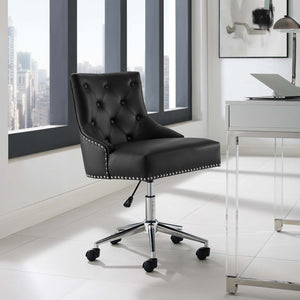 Regal Tufted Office Chair - Black - 1
