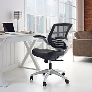 Edge Leather Chair - premium leather office chair