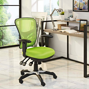 Articulate Mesh Chair - Bright Green - Office Picture