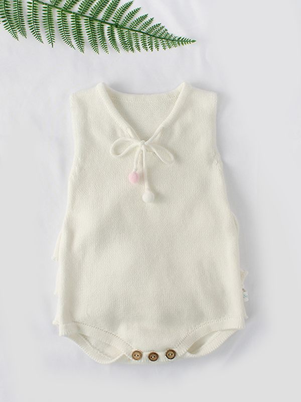 Emma Knitted Romper
