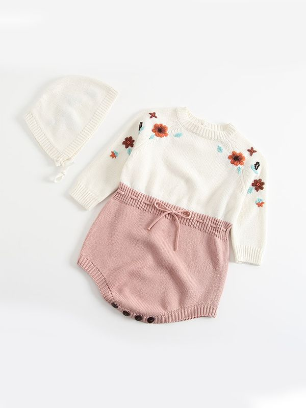 Evelyn Knitted Romper