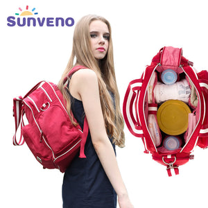 Sunveno Diaper Backpack/Handbag