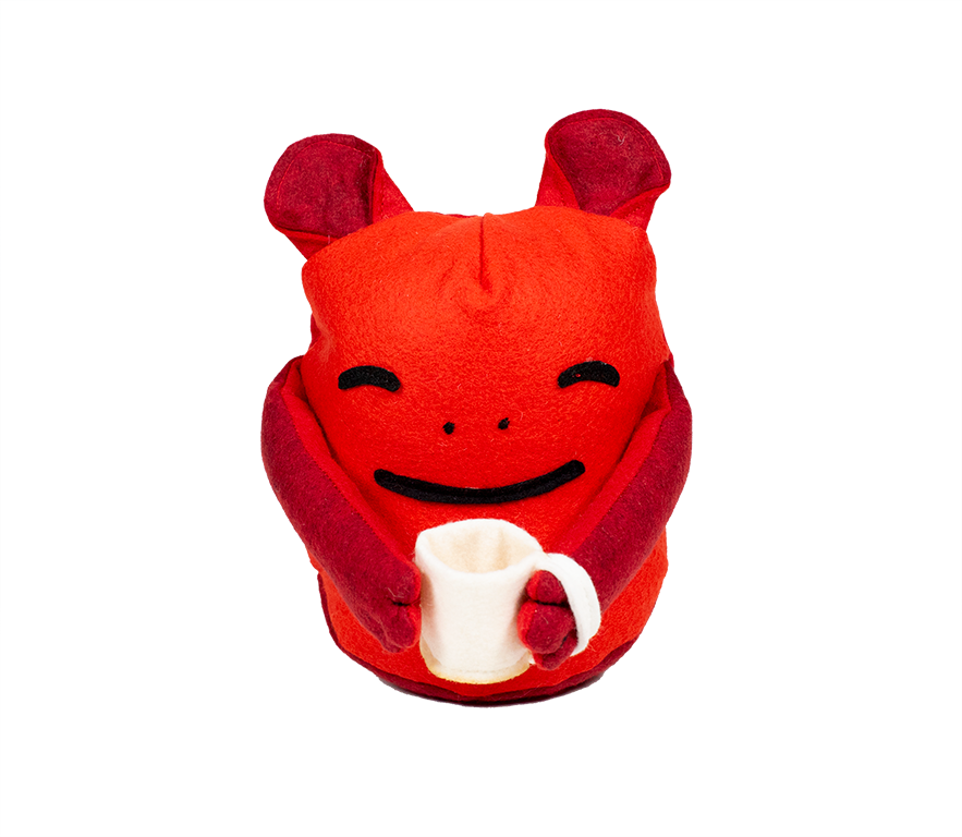 Coffee Monster Plush Image
