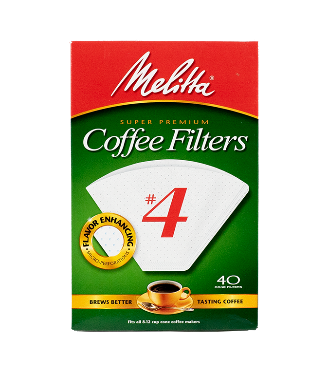 Melitta #4 Coffee Filters Image