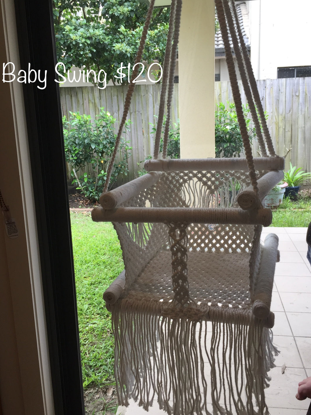 Baby Toddler Macramé Swing Chair