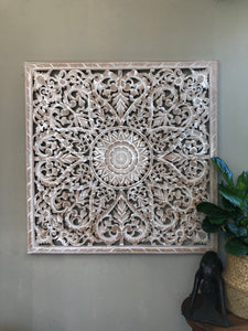 Mandala 8 HEART Wall Art  1.2m x 1.2m