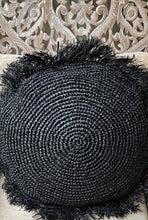 70cm Round Rafia Supersize Cushion