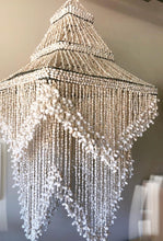 Shell Light Fitting or Hanging as Ceiling Art