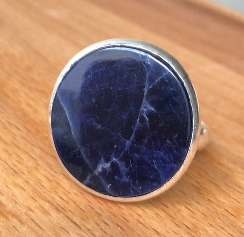 Sodalite Large Round  Polished Stone
