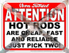 "VERN TARDEL ""ATTENTION"" WALL POSTER SET"
