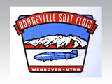 Bonneville Salt Flats Waterslide Decal