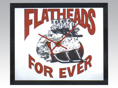 Flatheads Forever Clock