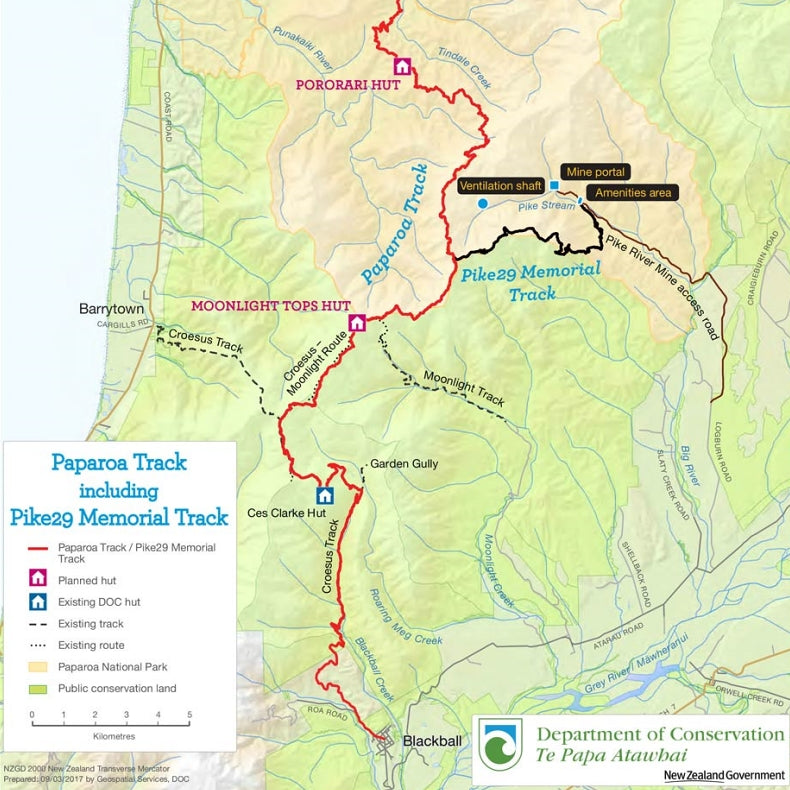 The Paparoa Track - New Zealand's 10th great Walk