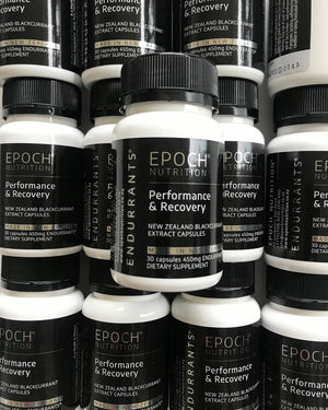 Performance & Recovery - New Zealand Blackcurrant Extract Capsules
