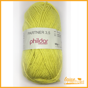 PHILDAR Partner 3.5 - Laine Couture