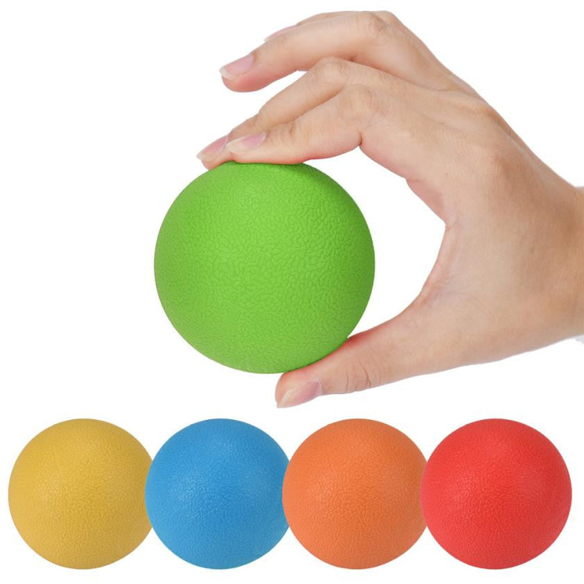 6.5 CM Rubber Ball Massage Trigger Points Body  Health Care Pain Relief Muscular