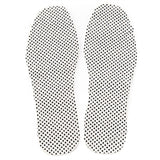 Pair of Magnetic Therapy Thermal Self-heating Foot Pad Foot Cushion Insoles