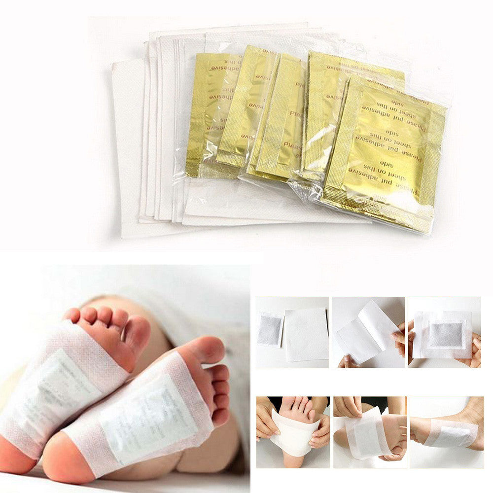 Women Man 10PCS Unisex Detoxify Detox Foot Pads Health Care
