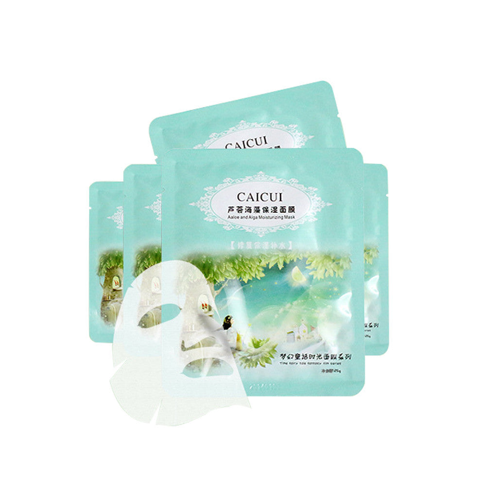1 PC Aloe And Alga Plant Collagen Crystal Mask  Facial Mask Face Care
