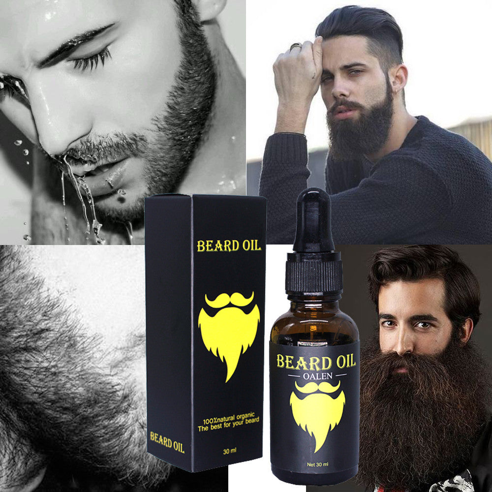 Men Liquid Beard Eyelash Growth Fast Enhance Facial Whiskers Nutrition Moustache