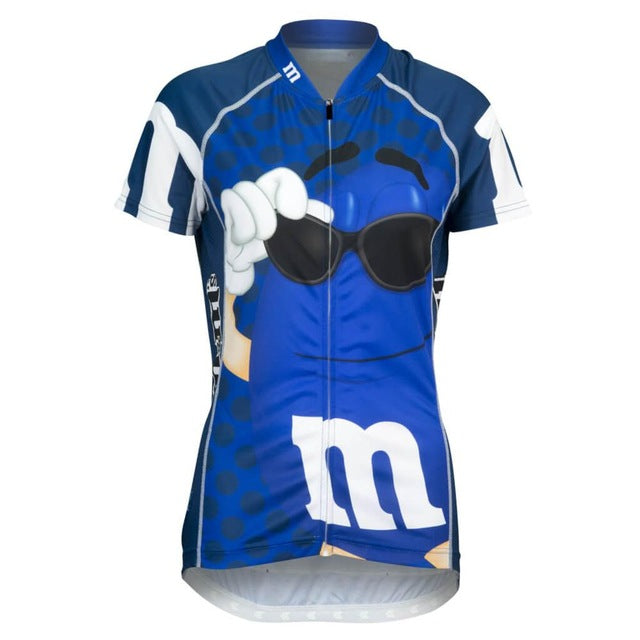 Hot MMS Pro Team Short Sleeve Women Cycling Jersey Racing Sport Bike Ropa Ciclismo Tops Mtb Bicycle Cycling Clothing