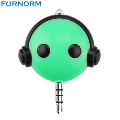3.5mm Wireless Mobile Phone Infrared Remote Control Plug Compatible for iPhone Android iOS for Household Appliance Air Condition