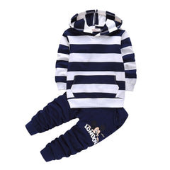2018 New Spring and autumn Boy's  Clothing Sets Sport Pullover Set Fashion Kid 2pic Suits Set Toddler  Tracksuit Boy's Set