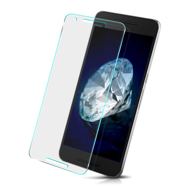 2PCS For Glass LG Nexus 5X Screen Protector Tempered Glass For LG Nexus 5X Glass Anti-scratch Phone Tempered Film WolfRule [