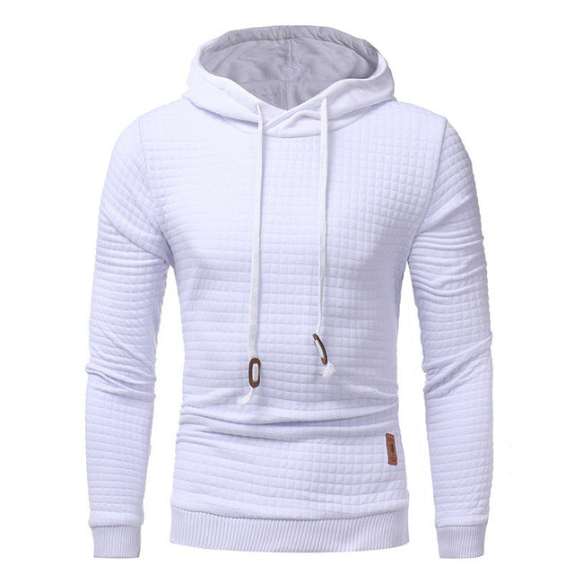 2018 Hoodies Men Long Sleeve Hooded Sweatshirt Hoodie Loose Solid Tracksuit Sweat Coat Casual Sportswear Outwear Plus Size 4XL
