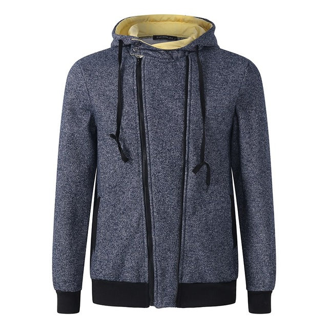 2018 Autumn Winter Spring Men Thick Hoodie Plus Size Coat Sweatshirts Fleece Fashion Hooded Warm Jacket Sportswear Outwear Top