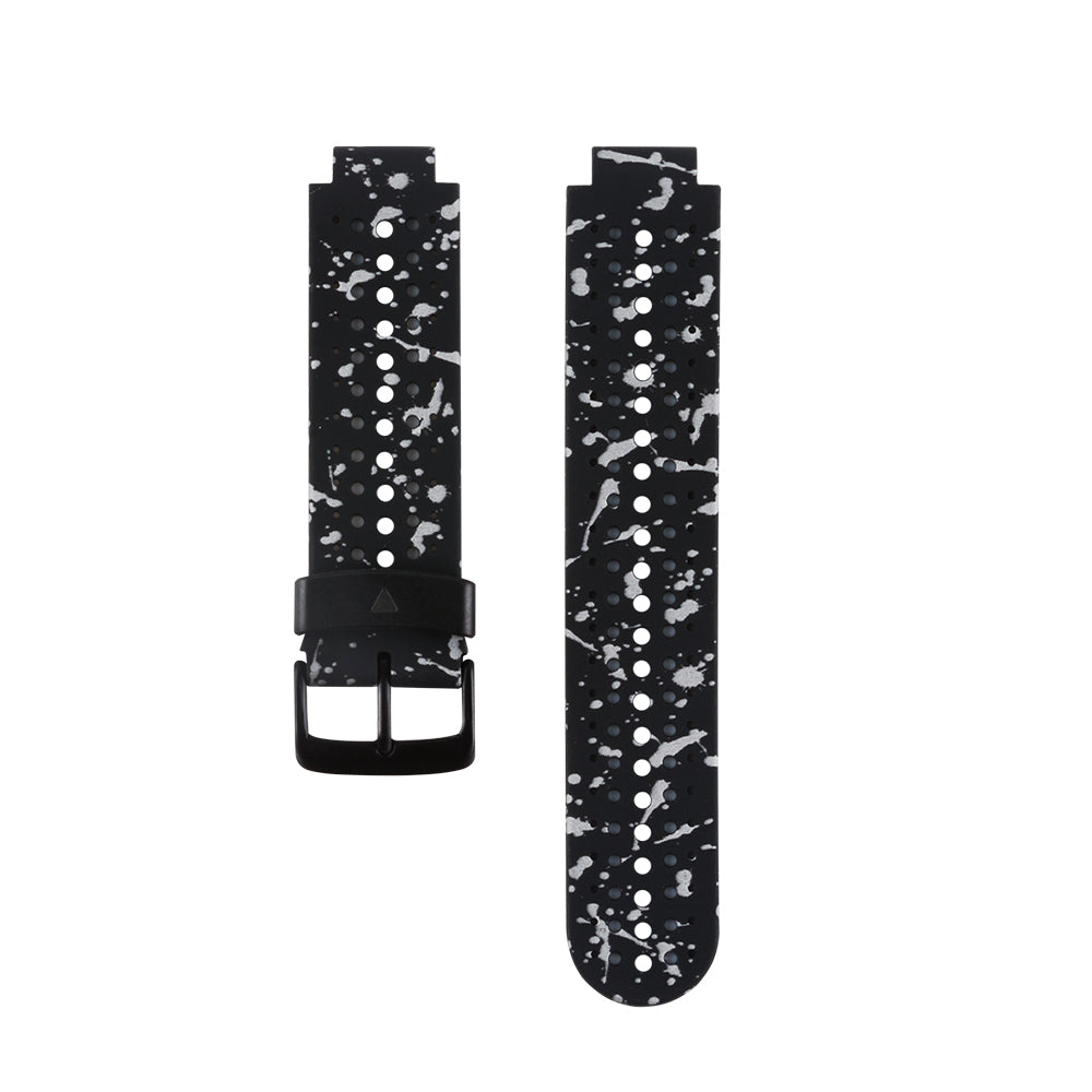 (230HS) Style-08 Soft Silicone Replacement Watch Band for Garmin Forerunner 230 / 235 / 220 / 620 / 630 / 735 Smart Watch