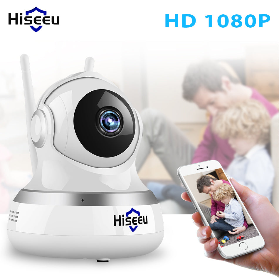 1080P IP Camera WIFI  CCTV Video Surveillance P2P Home Security cloud/TF card storage 2MP babyfoon camera network Hiseeu