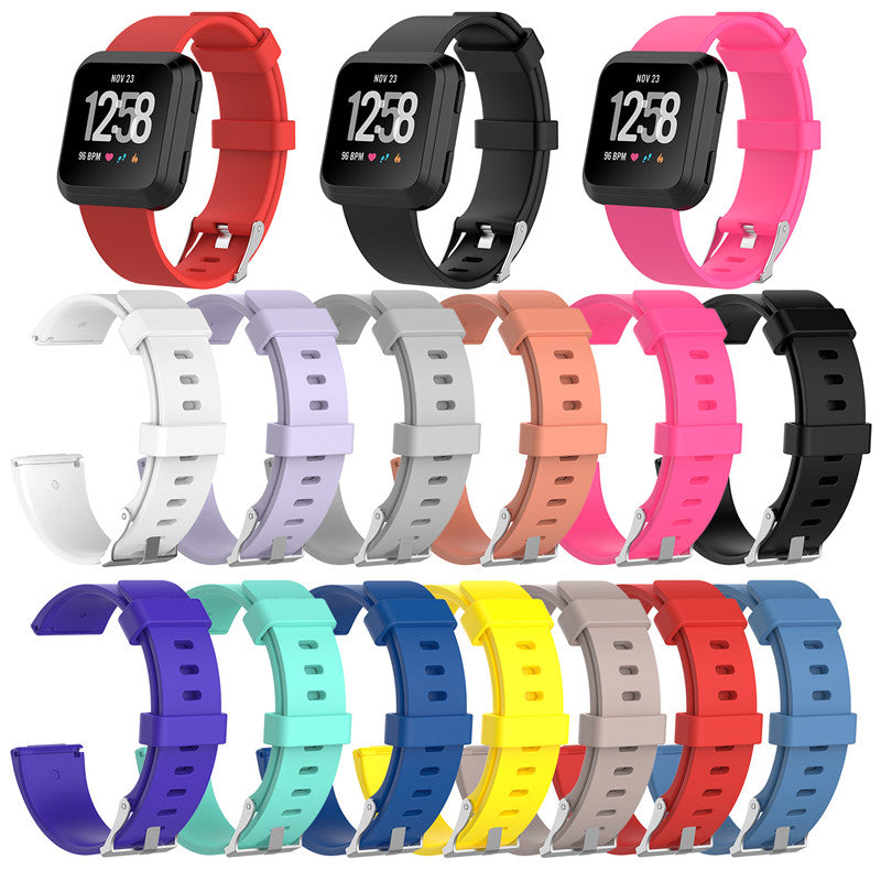 (Buy 3 Get 1 Free ) Replacement Silicone Rubber Band Strap Wristband Bracelet