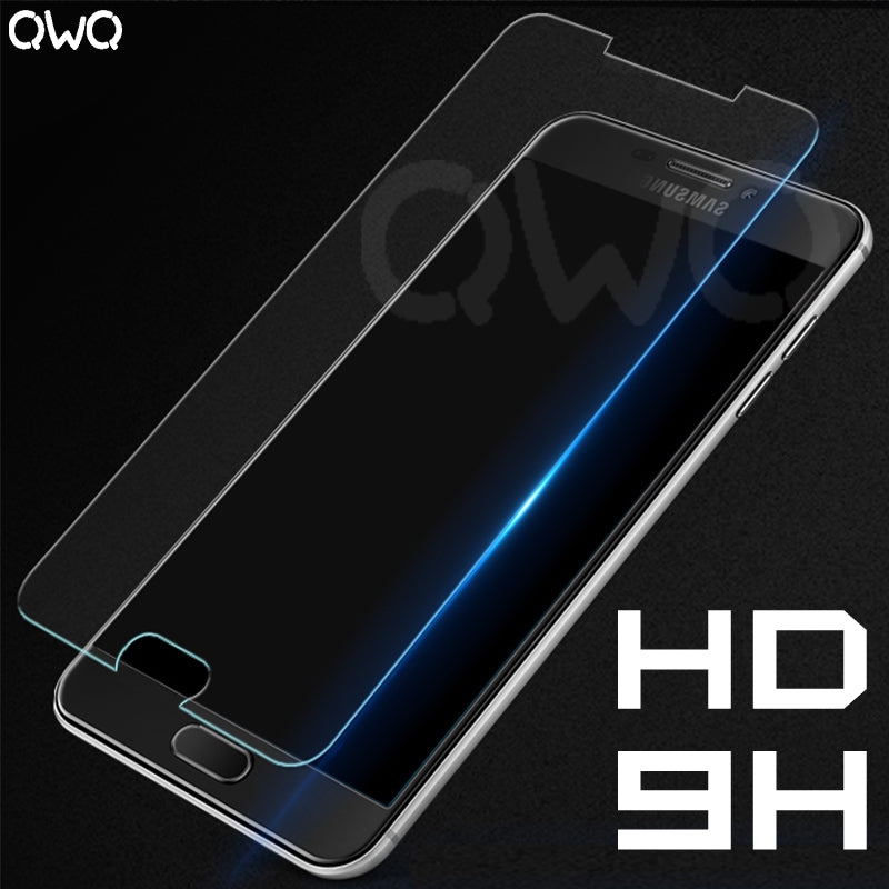 9H HD Tempered Glass For Samsung J5 2017 Glass A3 2017 Screen Protector For Samsung galaxy A5 j7 A7 2016 Transparent Glass Film