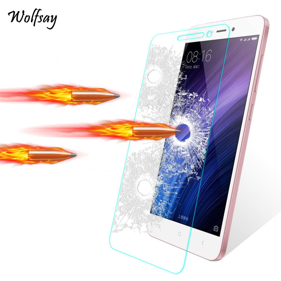 2pcs Glass Xiaomi Redmi 4A Screen Protector Tempered Glass For Xiaomi Redmi 4A Glass Redmi 4A Redmi4A Protective Film Wolfsay <