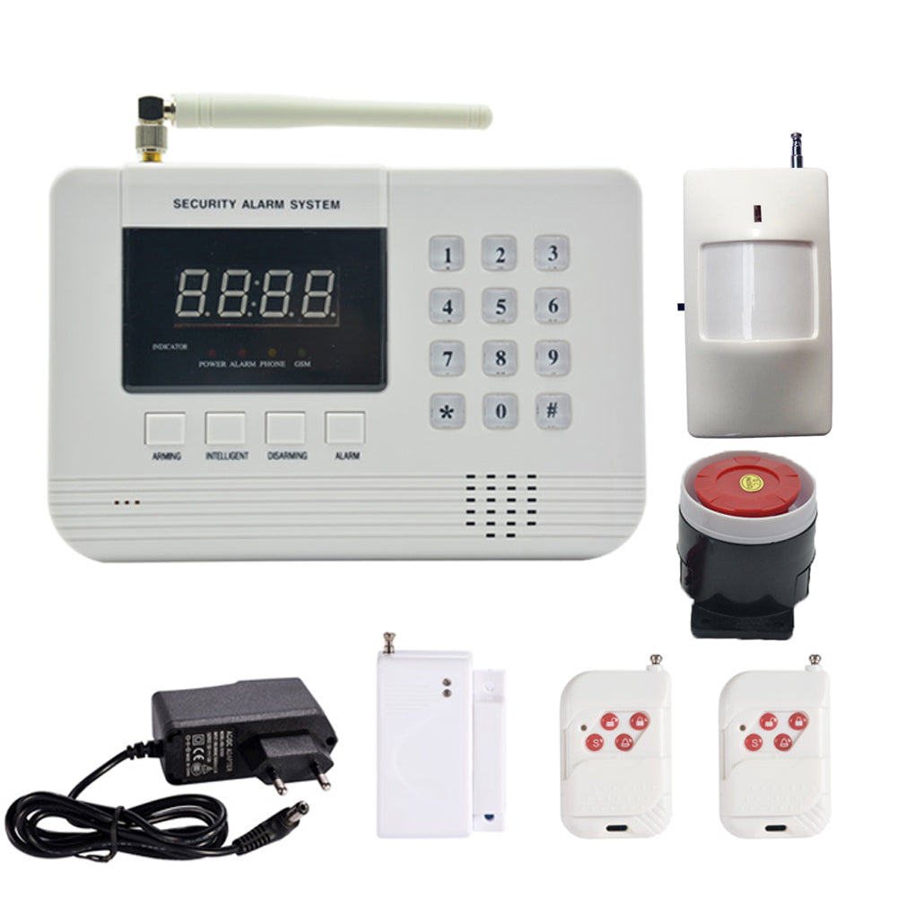 1 Set Hot sale Security Home GSM Alarm system PSTN Burglar Network