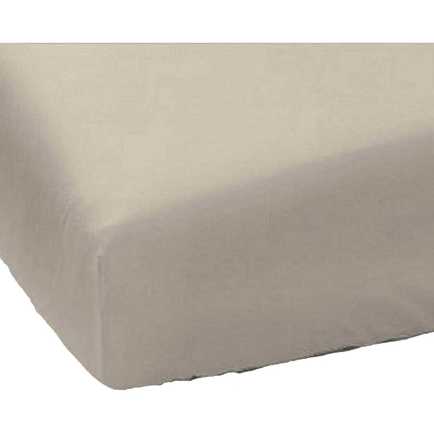 Plain Dyed Polycotton Fitted Sheets Single Double King Super King Pillowcases T200