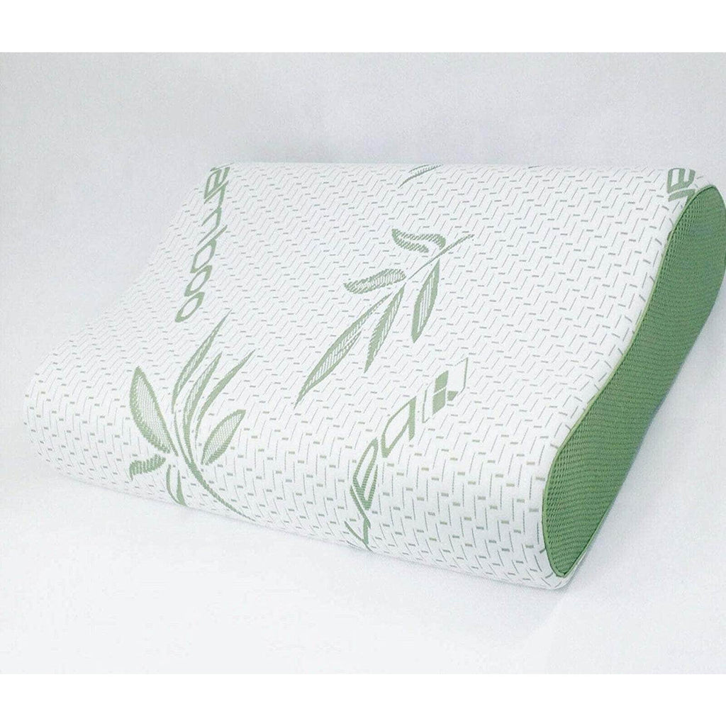 Contour Bamboo-Pillow-Memory-Foam-Orthopedic